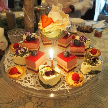 The cake selection of dreams